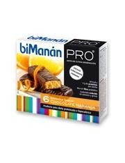 Bimanan metodo pro barra chocolate e laranja hiperproteica e hipocalorica 6 barras
