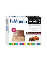 Bimanan metodo pro barra praline de chocolate hiperproteicas e hipocaloricas 6 barras