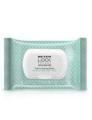 beter look expert toalhetes remoção de maquiagem 25 unidades