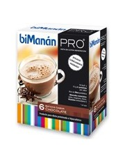 Bimanan metodo pro suco chocolate hiperproteica e hipocalorica 6 envelopes