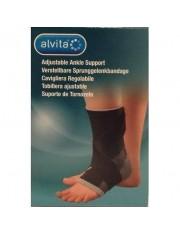 sustentação do tornozelo alvita ajustavel tamanho- 2 tornozelo contorno 22-24 cm