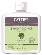 Cattier cabelo oleoso argila verde 250 ml