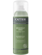 Cattier homem safecontrol desodorante spray 100 ml