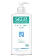 Cattier leite corporal modeladora 500 ml