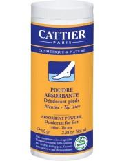 Cattier pé pó absorvente desodorante 65 g