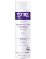 Cattier solução micelar removedor de maquiagem 3 en 1 300 ml