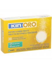 Kin oro tabletas de limpieza dentaduras 30 unidades