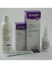Melagyn duo solução tópica pulverização 30 ml y gel de protecção íntima 200 ml