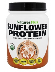nature's plus proteína de girassol (sunflower protein) 555 g