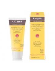 cattier Máscara de desintoxicação, para o couro cabeludo, pré shampoo 200 ml