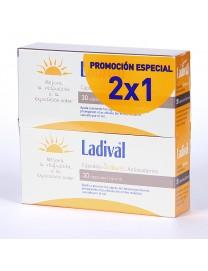 LADIVAL PACK SOLARES ANTIOXIDANTES 2 X 30 CAPSULAS