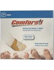 COMFORSIL protetor de quinto dedo com anel de silicone tamanho pequenho 1 unidade CC321S