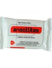 ANSOLLITAS Higiene anal sem dor 10 toalhetes