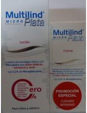 MULTILIND PLATA DUPLO LOCIÓN 200ML + CREMA 75 ML