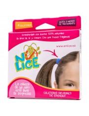Po-lice gomas para o cabelo aromaterapia 4 gomas rb anti-piolhos