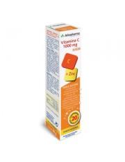 Arkovital vitamina c 1000mg + zinc comprimidos efervescentes 20 comprimidos