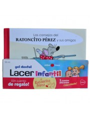 Lacer infantil gel dentário criança 50 ml morango