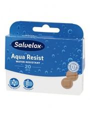Salvelox curativos plastico aqua resist redondos 20 tiras adesivas