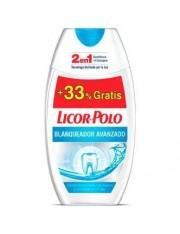 DENTIFRICO LICOR DEL POLO 2EN1 BLANQUEANTE BLANQUEADOR AVANZADO 75 ML+ 33% GRATIS