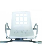assento banheira rotativo ad-536 aluminio